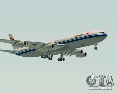 Airbus A340-313 Air China para GTA San Andreas
