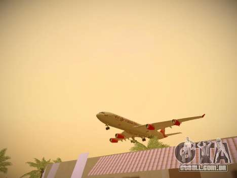 Airbus A340-300 Virgin Atlantic para o motor de GTA San Andreas