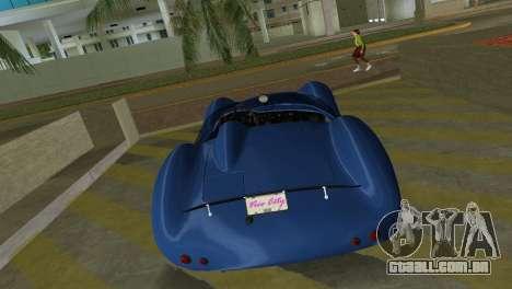 Aston Martin DBR1 para GTA Vice City vista traseira