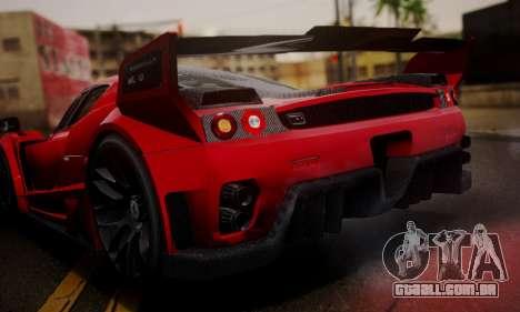 Ferrari Gemballa MIG-U1 para GTA San Andreas vista interior