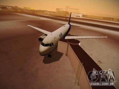 Airbus A320-211 All Nippon Airways para GTA San Andreas