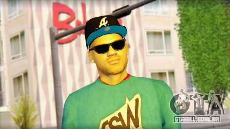 Superstar para GTA San Andreas terceira tela