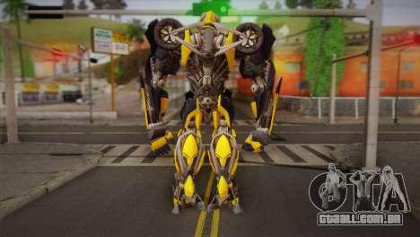 Bumblebee v1 para GTA San Andreas segunda tela