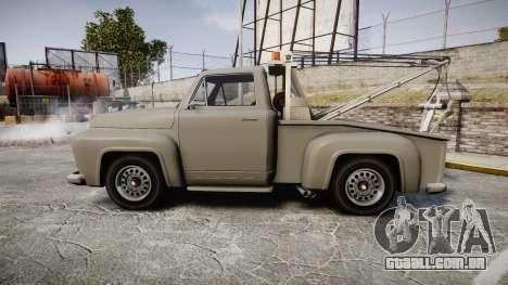 Vapid Tow Truck Jackrabbit para GTA 4 esquerda vista