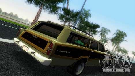 Ford Country Squire para GTA Vice City vista direita
