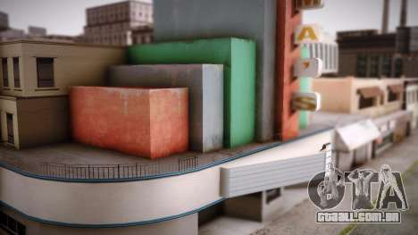 Graphic Unity v3 para GTA San Andreas twelth tela