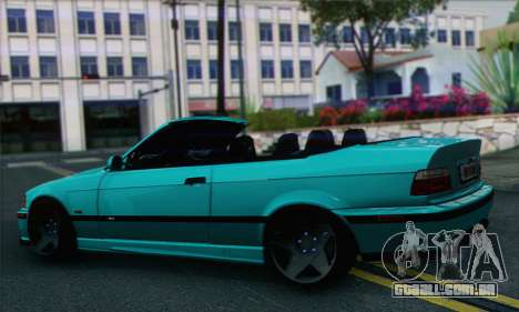 BMW 3-series Cabrio para GTA San Andreas esquerda vista
