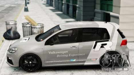 Volkswagen Golf R 2010 Driving Experience para GTA 4 traseira esquerda vista