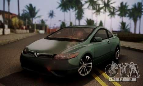 Honda Civic SI 2006 para GTA San Andreas