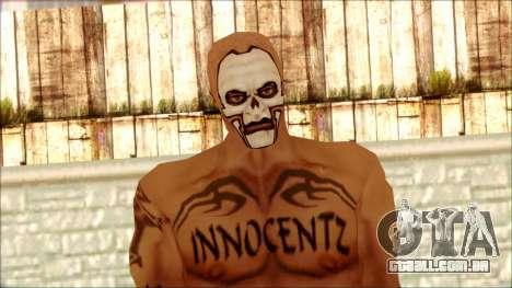 Manhunt Ped 5 para GTA San Andreas terceira tela