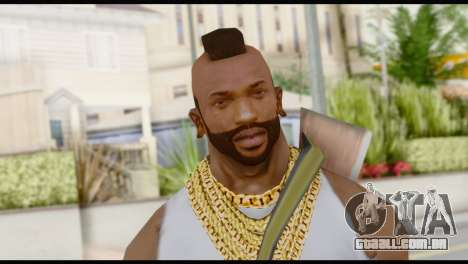 MR T Skin v6 para GTA San Andreas terceira tela