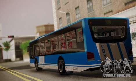 Design X4 Dreamer Blueline para GTA San Andreas esquerda vista