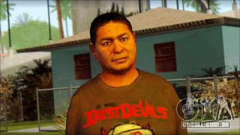 GTA 5 Ped 19 para GTA San Andreas terceira tela
