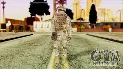 Ranger (CoD: MW2) v5 para GTA San Andreas segunda tela