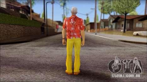 Doc from Back to the Future 2015 para GTA San Andreas segunda tela