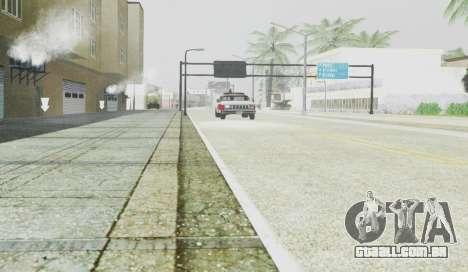 Graphical Shell para GTA San Andreas sexta tela