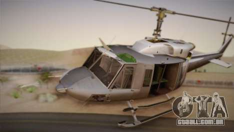 Bell UH-1N Twin Huey USMC para GTA San Andreas