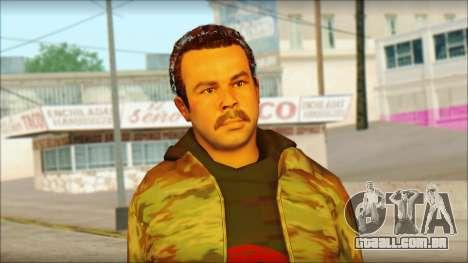 GTA 5 Ped 9 para GTA San Andreas terceira tela