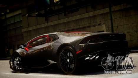 Lamborghini Huracan LP610-4 SuperTrofeo para GTA 4 vista lateral