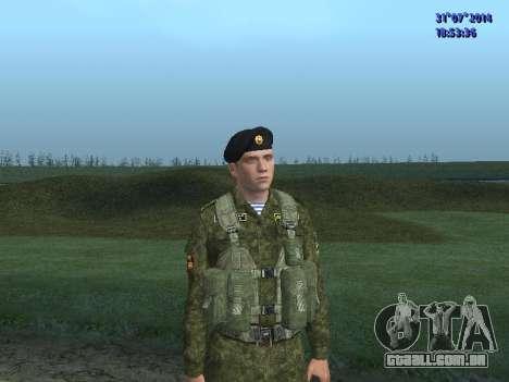 O Oficial Do Corpo De Fuzileiros Navais para GTA San Andreas