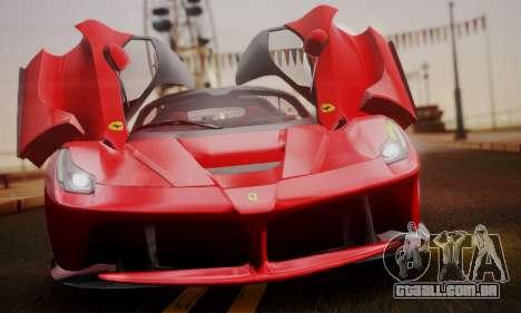 Ferrari LaFerrari F70 2014 para GTA San Andreas interior