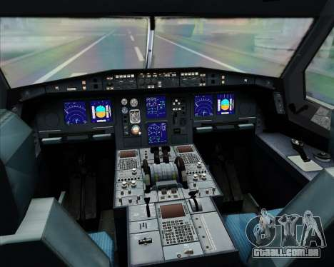 Airbus A330-300 Thai Airways International para GTA San Andreas interior