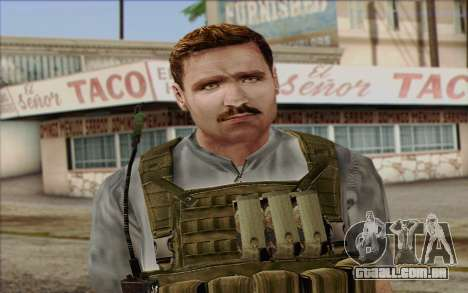 Dixon from ArmA II: PMC para GTA San Andreas terceira tela