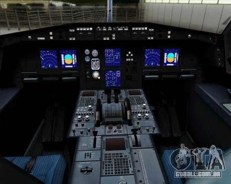Airbus A330-300P2F Federal Express para GTA San Andreas interior