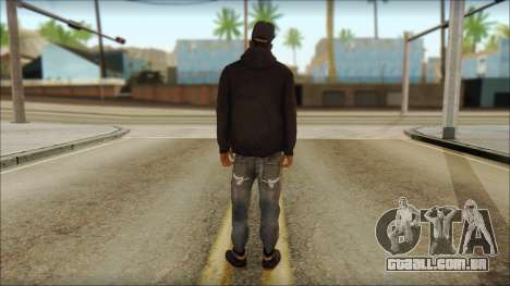 New Grove Street Family Skin v2 para GTA San Andreas