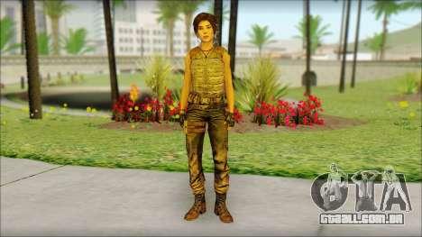 Tomb Raider Skin 15 2013 para GTA San Andreas