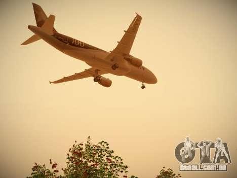 Airbus A320-214 LAN Airlines 100th Plane para o motor de GTA San Andreas