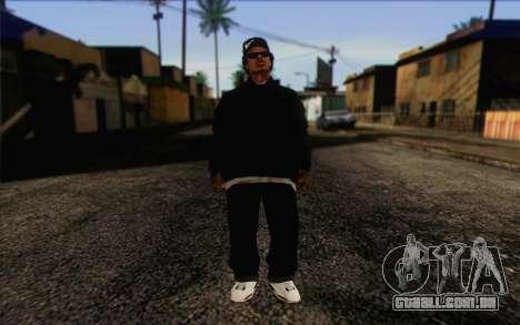 N.W.A Skin 3 para GTA San Andreas