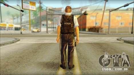 Um policial da TC SC: Convicção para GTA San Andreas segunda tela