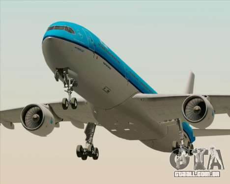 Airbus A330-300 KLM Royal Dutch Airlines para GTA San Andreas esquerda vista