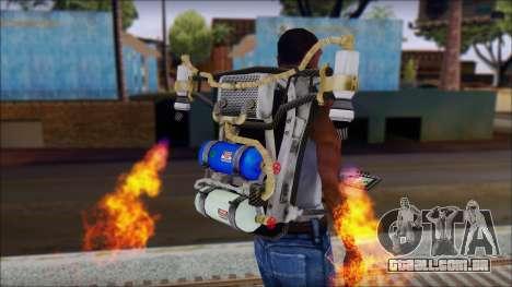 New Jetpack para GTA San Andreas segunda tela