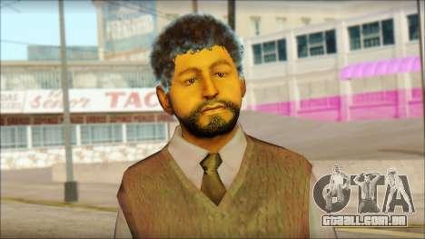 GTA 5 Ped 16 para GTA San Andreas terceira tela