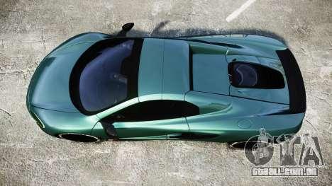 McLaren 650S Spider 2014 [EPM] Yokohama ADVAN v1 para GTA 4 vista direita