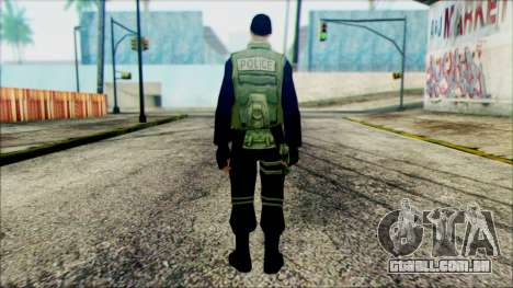 SWAT from Beta Version para GTA San Andreas segunda tela