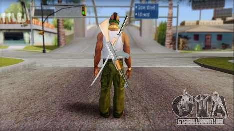 MR T Skin v12 para GTA San Andreas segunda tela