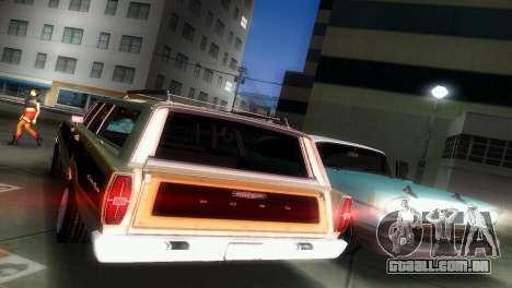 Ford Country Squire para GTA Vice City vista interior