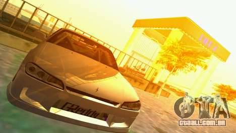 Nissan Silvia S15 TUNING JDM para GTA Vice City vista traseira esquerda