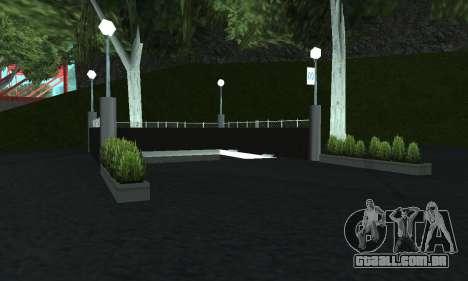 Uma nova estação de metrô de San Fierro para GTA San Andreas quinto tela