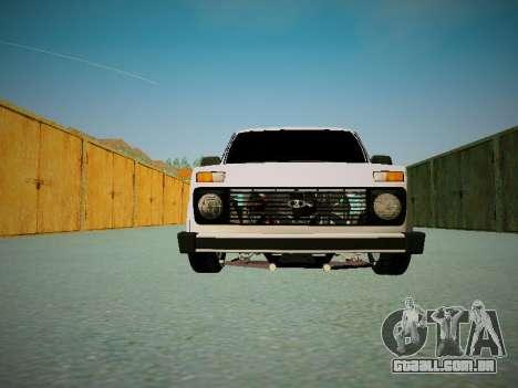 VAZ 2121 para GTA San Andreas vista interior