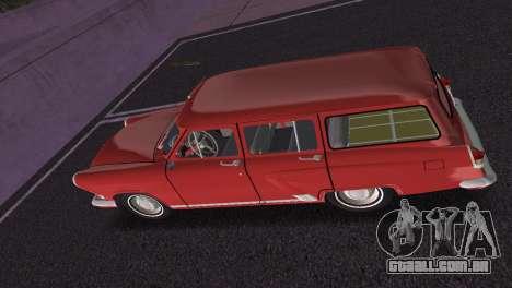 GAZ Volga 22 1965 para GTA Vice City vista interior