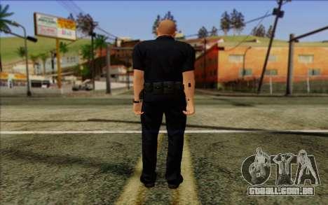 Polícia (GTA 5) Pele 2 para GTA San Andreas segunda tela