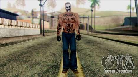 Manhunt Ped 5 para GTA San Andreas
