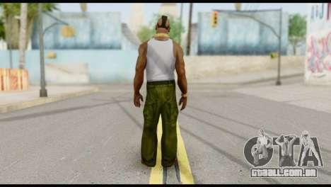 MR T Skin v4 para GTA San Andreas segunda tela