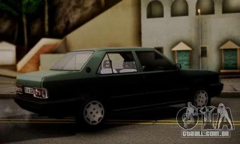 Tofas Dogan SLX 1999 1.6 para GTA San Andreas esquerda vista