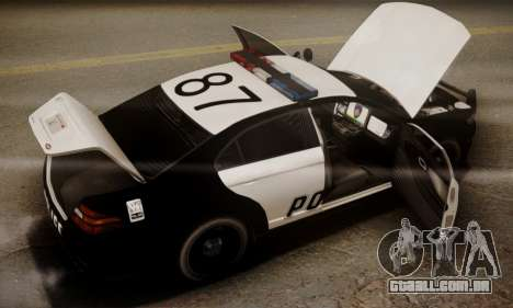 Vapid Police Interceptor from GTA V para o motor de GTA San Andreas