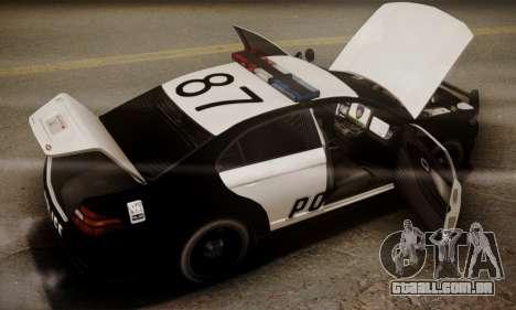 Vapid Police Interceptor from GTA V para o motor de GTA San Andreas